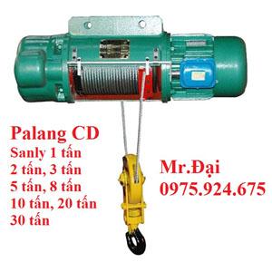 Pa lăng cáp điện CD 1 tấn 24 m