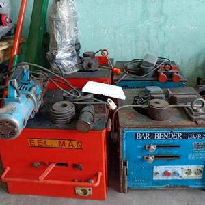 Máy uốn sắt Hàn Quốc bãi